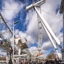 London Eye visitors and entry to pods