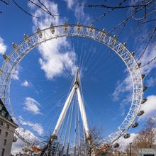 London Eye from behind