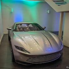 007 likes his Aston Martins