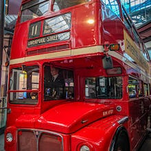 Double-deckers have been on London roads for quite some time