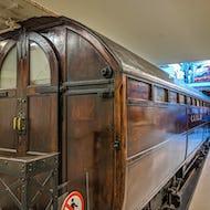 Less windows than in modern trains
