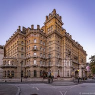 The Langham Hotel on Portland Place