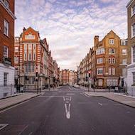 View of Queen Anne Street in Marylebone