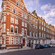 Some of the famous Beatles songs were written in 57 Wimpole Street (2nd from left)
