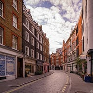 View of Marylebone Lane