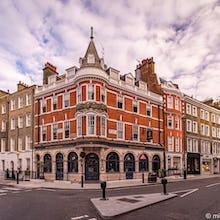 The Prince Regent pub on Marylebone High Street