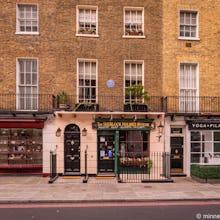 The Sherlock Holmes Museum on 221b Baker Street