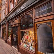 Daunt Books is an Edwardian book store on Marylebone High Street
