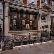 Mens clothing store on Savile Row