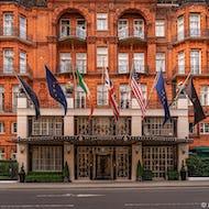 Claridges is a 5-star hotel in Mayfair