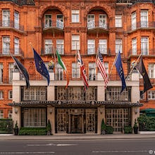 Claridges is a 5-star hotel in Mayfair