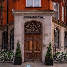 Nicholas Kirkwood flagship store on Mount Street
