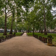 Berkeley Square in Mayfair