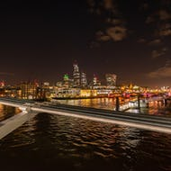 City of London from the Millennium Bridge