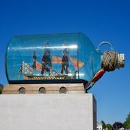 A ship in the bottle
