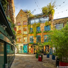 Colourful buildings of Neals Yard