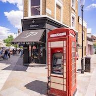 Phone booth as a cash machine