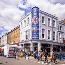 A distillery and a hotel on Portobello Road