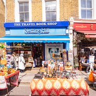 A gift shop in the location of the book shop in the Notting Hill movie