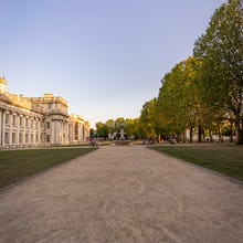 Gardens around Old Royal Naval College