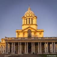 Sunset brings out the best in the buildings designed by sir Christopher Wren