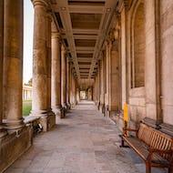 Old Royal Naval College walkway