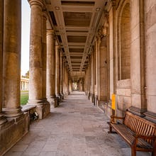 Old Royal Naval College walkway