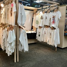 Shirts and T-shirts at Old Spitalfields Market