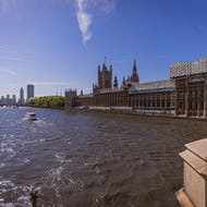 Westminster Palace partly under renovation