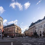 Piccadilly Circus view towards east