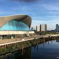 London Aquatics Centre in the olympic park