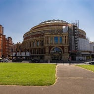 Royal Albert Hall as seen from Kensington Gardens