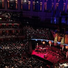 Royal Albert Hall during a concert