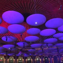The ceiling of the Royal Albert Hall