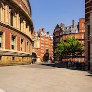 Royal Albert Hall and surrounding buildings