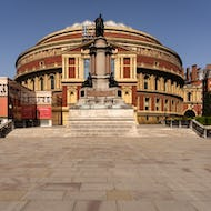 Royal Albert Hall view from the top of the stairs