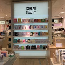 Korean beauty products at Selfridges