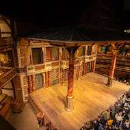 Shakespeare's Globe is getting ready for a show