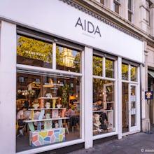 Aida homeware store in Shoreditch