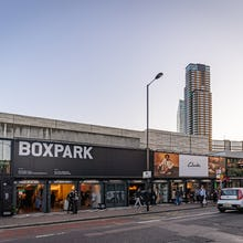 Boxpark offers a range of shops and food options