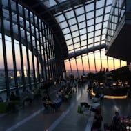 Sky Garden during sunset
