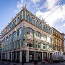 A beautiful building in Soho
