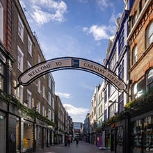 Carnaby Street welcome sign