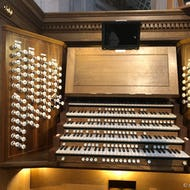A church organ at St Paul's Cathedral