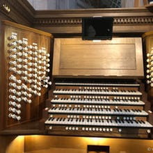 A church organ at St Paul's Cathedral