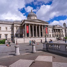 National Gallery main entrance