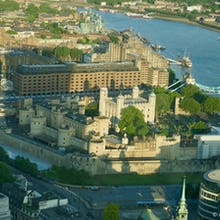 View of Tower of London from the Sky Garden