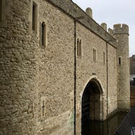 A watery entrance to Tower of London
