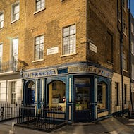 The Old Dairy is a coffee shop in Fitzrovia