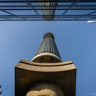 BT Tower from below